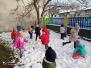 Styczniowe zabawy na śniegu