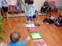 Zabawy sensoryczne w grupie 2